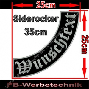 Side Rocker 35cm Aufnäher Patch S02