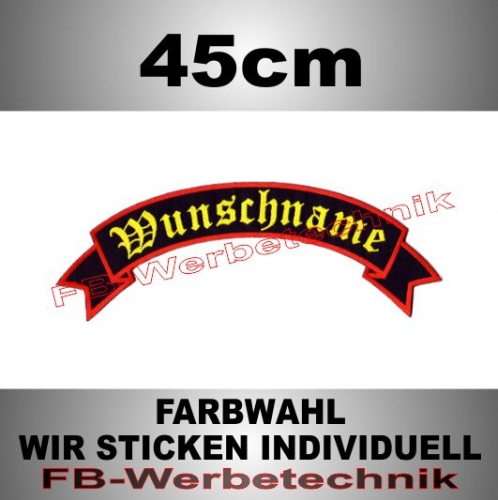 TOP ROCKER 45cm Flagge Patch S02