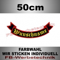 Backpatch Schleife UNTEN 50cm Patches S02
