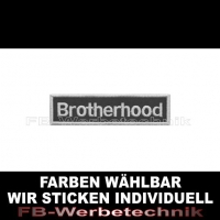 Brotherhood Aufnäher Patches 10cm x 2,5cm S01