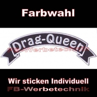 Drag Queen Top Rocker 29cm Patches Aufnäher S03