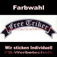 Free Triker Top Rocker 29cm Patches Aufnäher S02