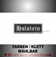 Holstein Patches Aufnäher Biker Patch 9x3 S2