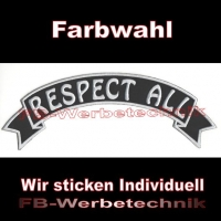 RESPECT ALL Top Rocker 29cm Patches Aufnäher S03