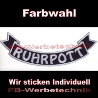 RUHRPOTT Bottom Rocker 29cm Aufnäher Patches S03