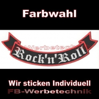Rock 'n' Roll Bottom Rocker 29cm Patches S02