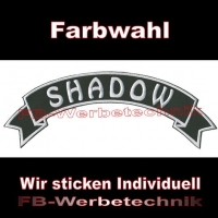 SHADOW Top Rocker 29cm Patches Aufnäher S03