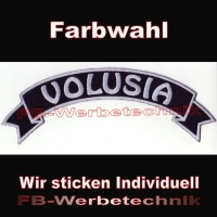 VOLUSIA Top Rocker 29cm Patches Aufnäher S03