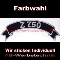 Z 750 Top Rocker 29cm Patches Aufnäher S03