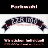 ZZR 1100 Top Rocker 29cm Patches Aufnäher S03