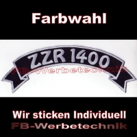 ZZR 1400 Top Rocker 29cm Patches Aufnäher S03